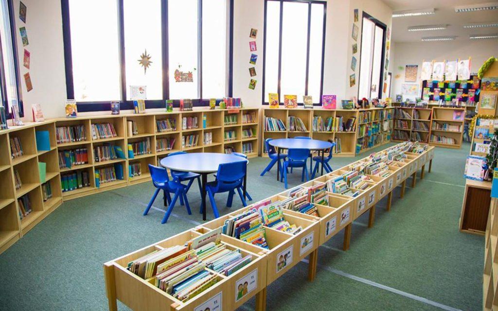 Library at Horizon English School