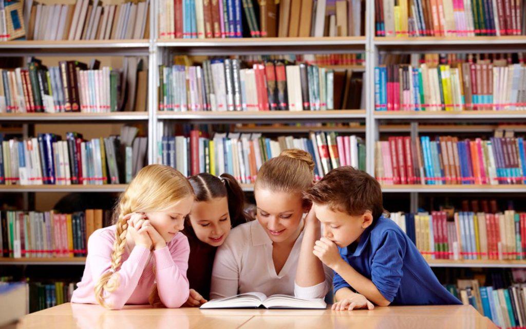 مكتبة مدرسة