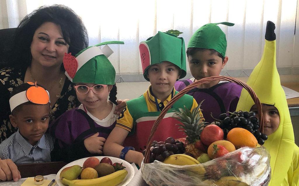 Fruit Day at Sharjah Public School