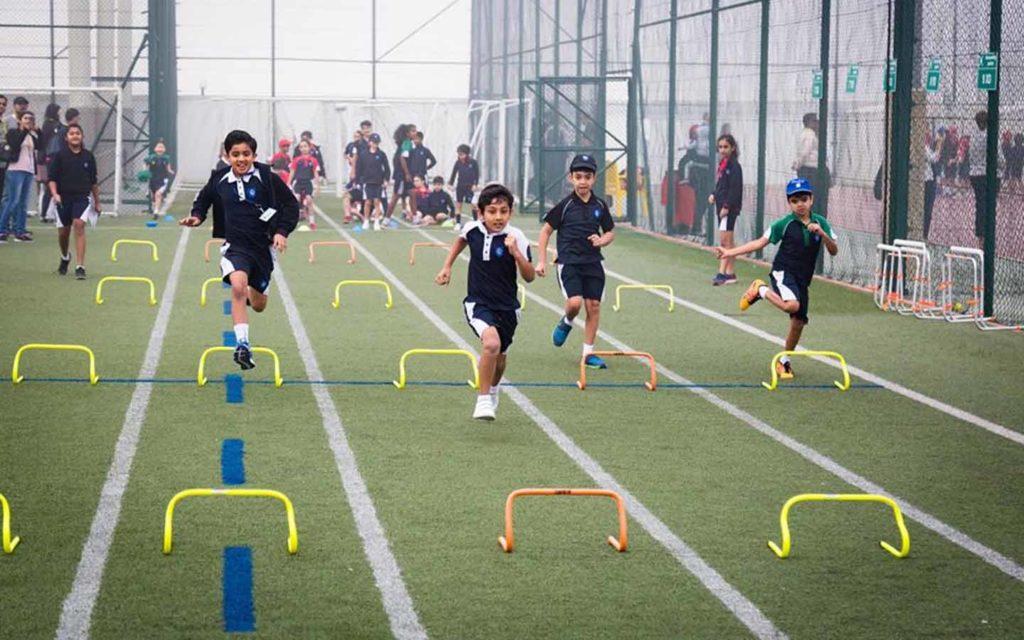 Running track at GEMS Wellington International School