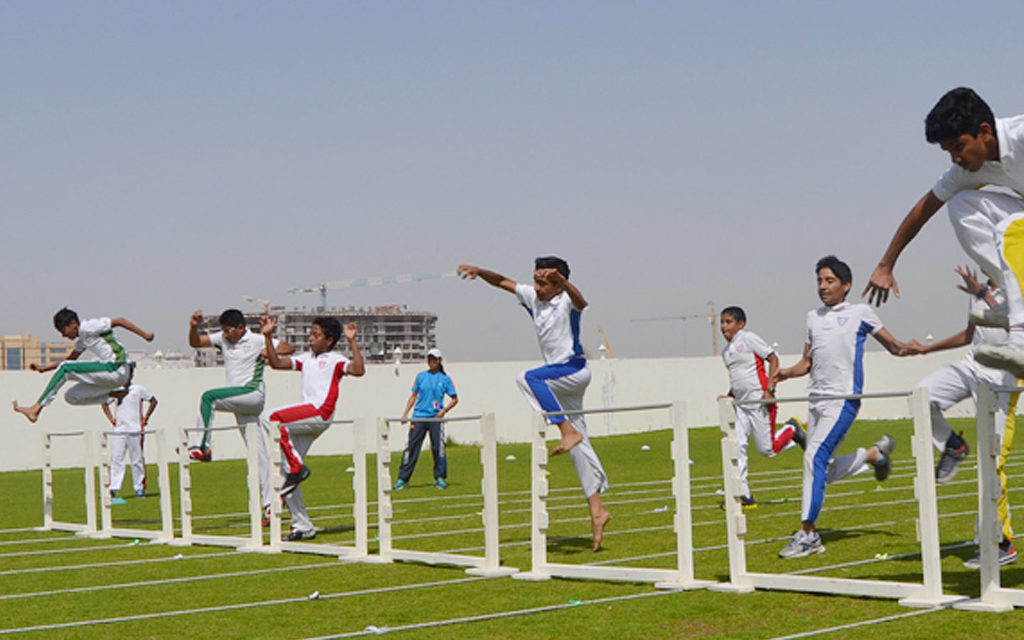 Sports day at the Indian International School