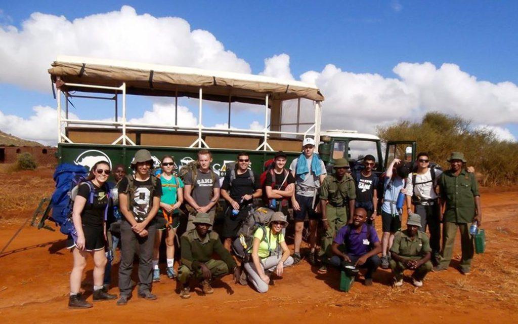 رحلة طلاب مدرسة جيمس فيرست بوينت إلى كينيا