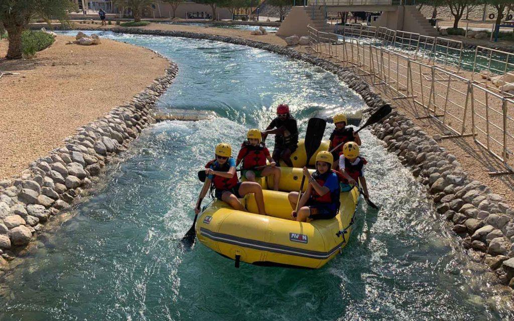 Victoria International School of Sharjah students go on regular field trips.