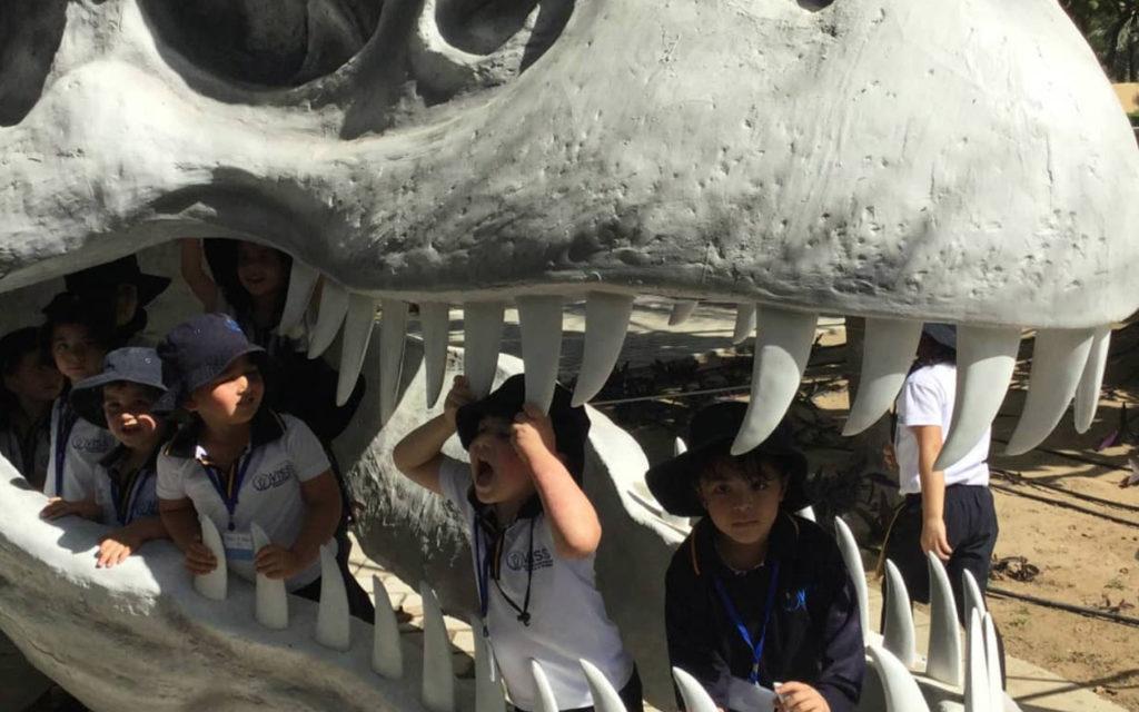 VISS students at Dinopark in Zabeel