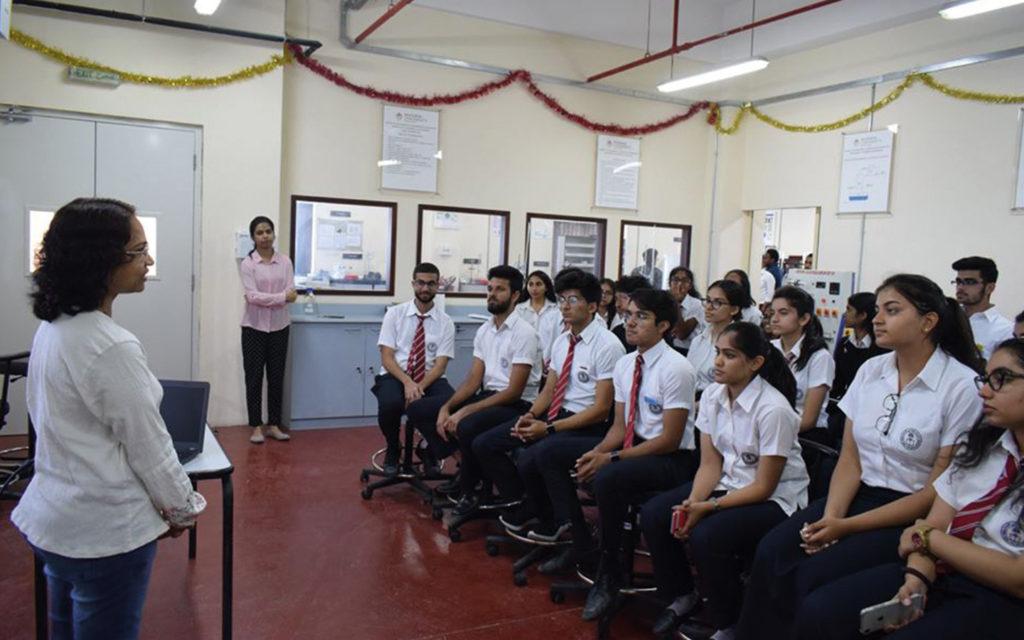 Dubai Gem Private School student's sitting at Manipal University