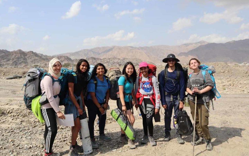 Students of GEMS Wellington International School on a field trip