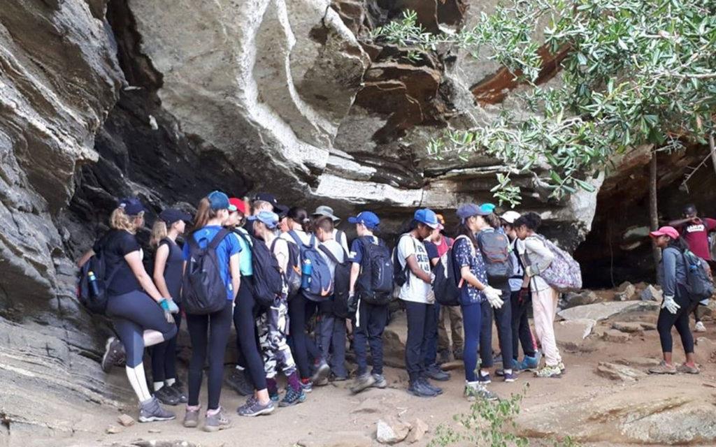 رحلة طلاب إلى كينيا