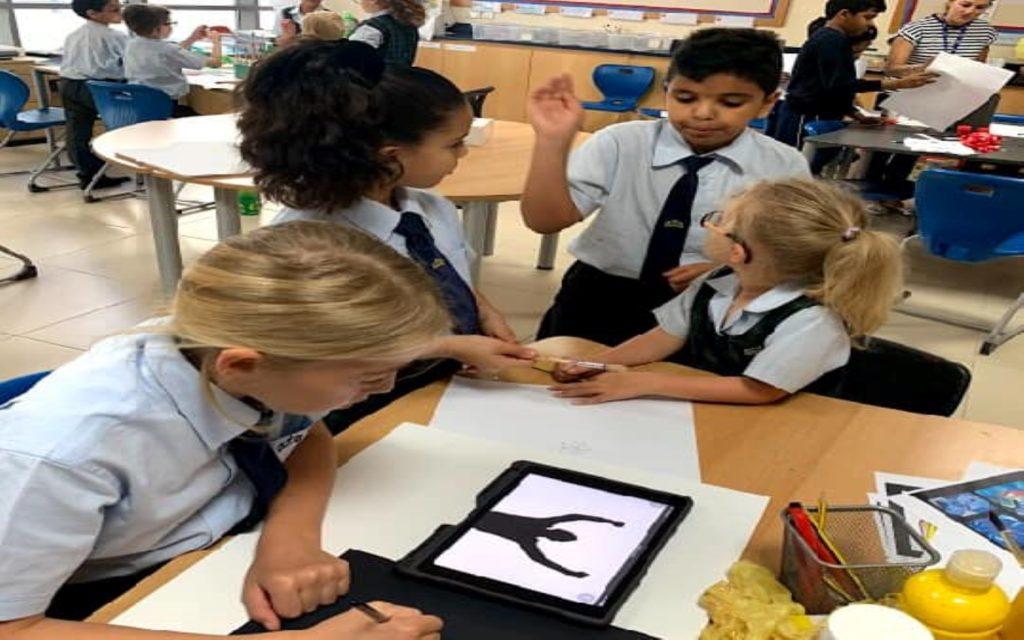 Art-related activities in Kings' School Al Barsha
