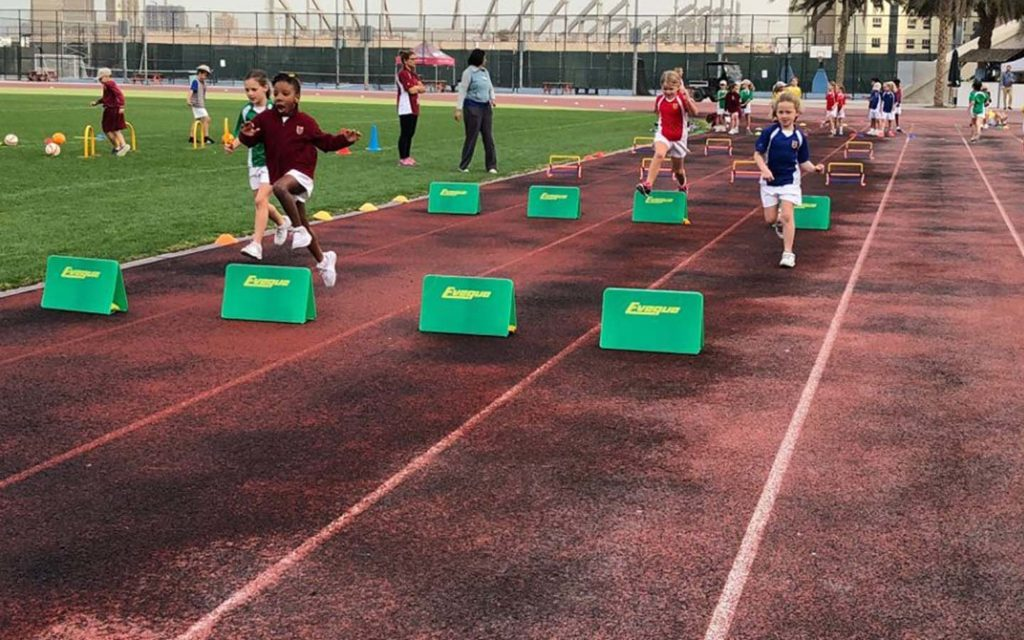 الانشطة الرياضية في مدارس دبي