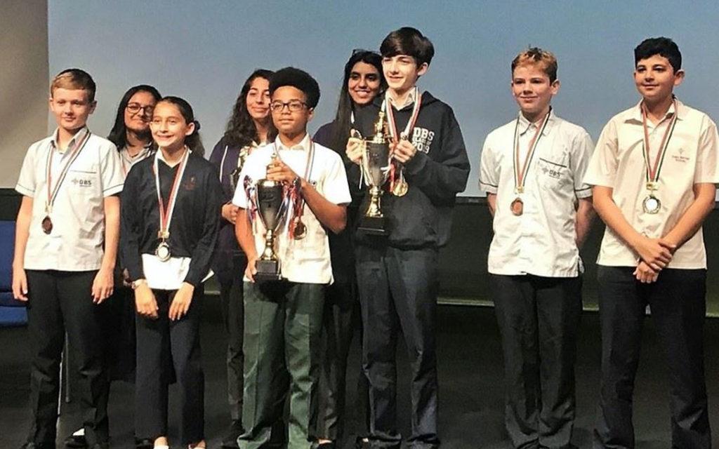 تكريم طلاب مدرسة دبي البريطانية