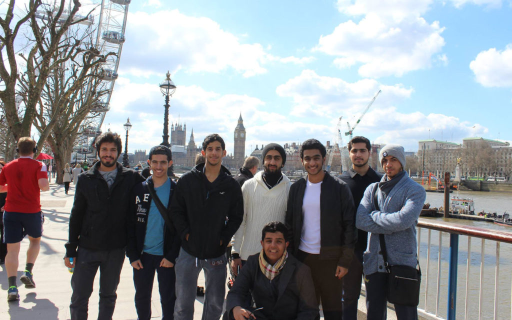 RISS students in London
