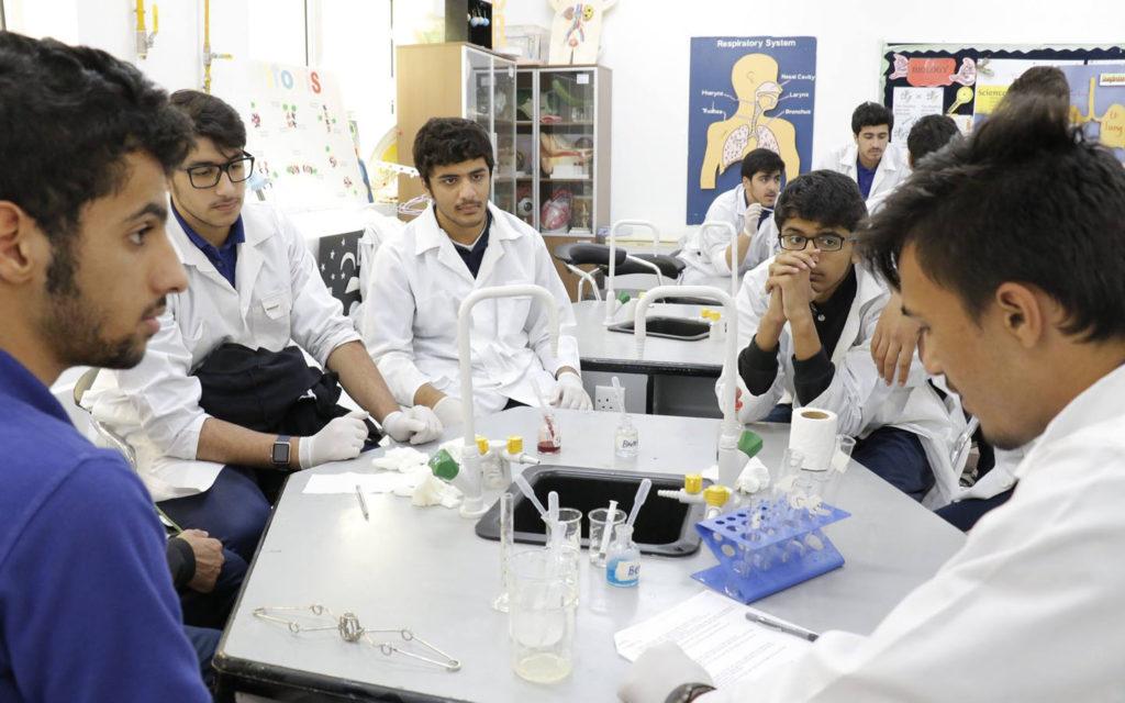 RISS chemistry lab
