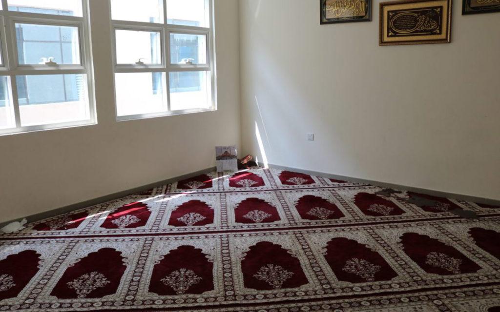 Prayer rooms at BAKIS
