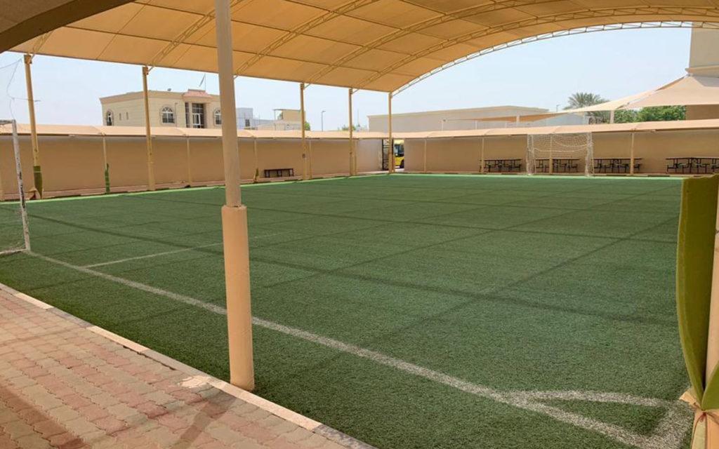 Football ground at BAKIS