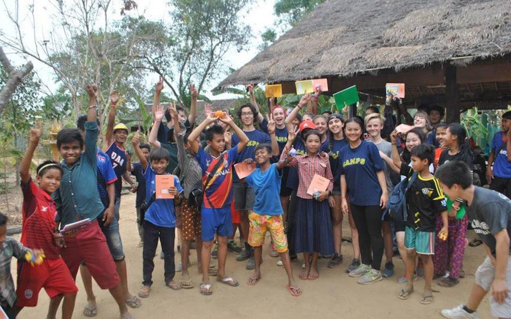 Students of Jumeira Baccalaureate School Dubai visited Cambodia