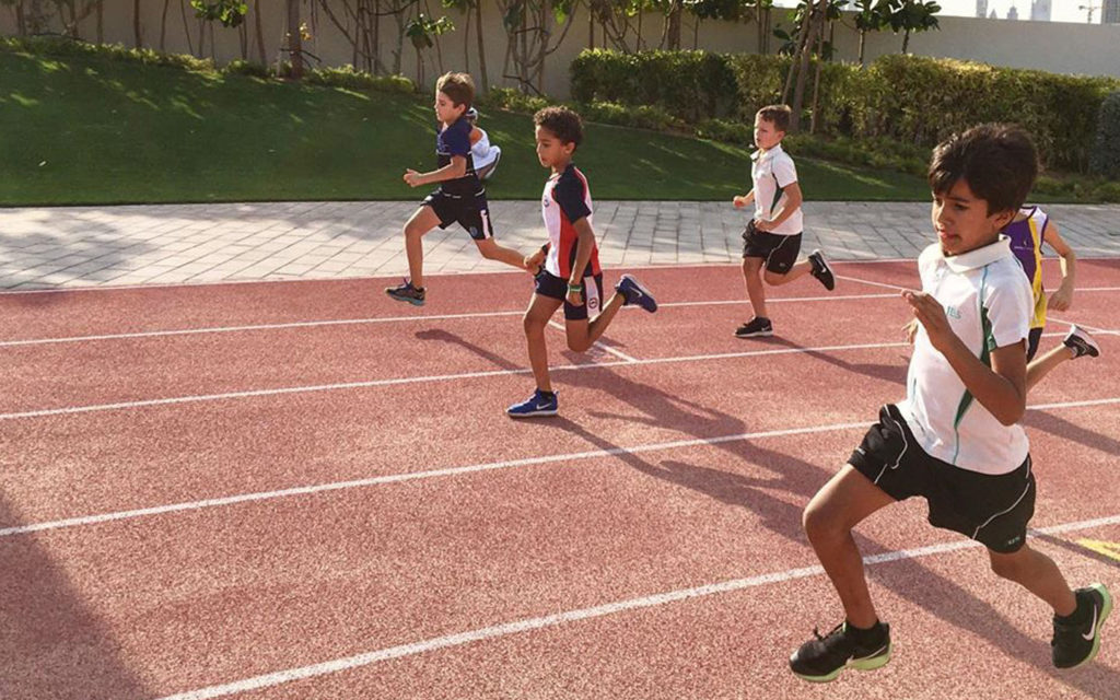 Running track at Jumeira Baccalaureate School