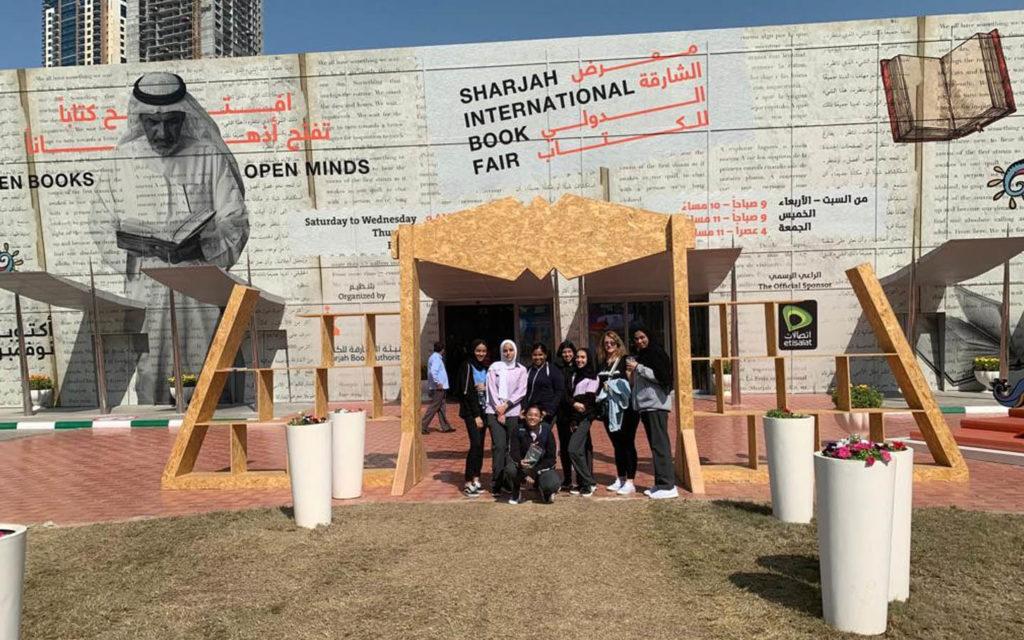 رحلة ميدانية لطلبة مدرسة الوردية الخاصة مويلح إلى معرض الشارقة للكتاب