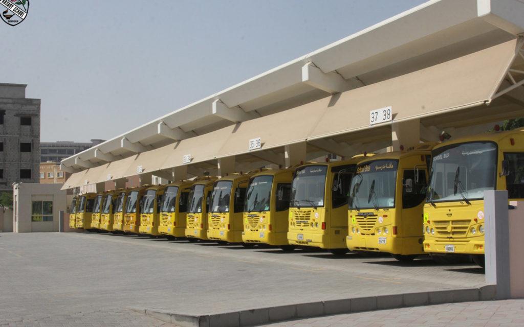 حافلات مدرسة الوردية الخاصة مويلح