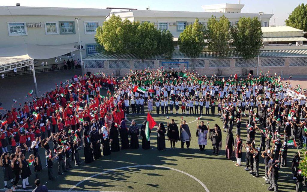 National day celebration at Al Ain Juniors School