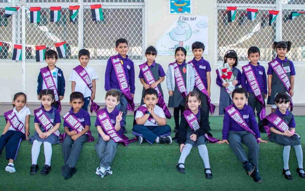 students of Liwa International School
