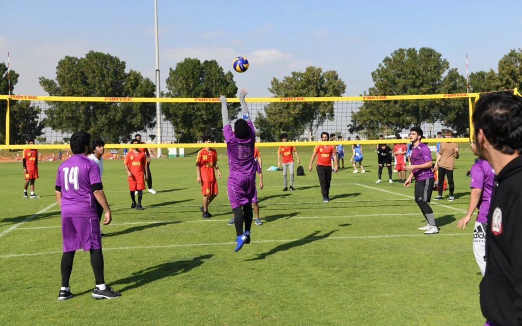 sports facilities at Liwa International School