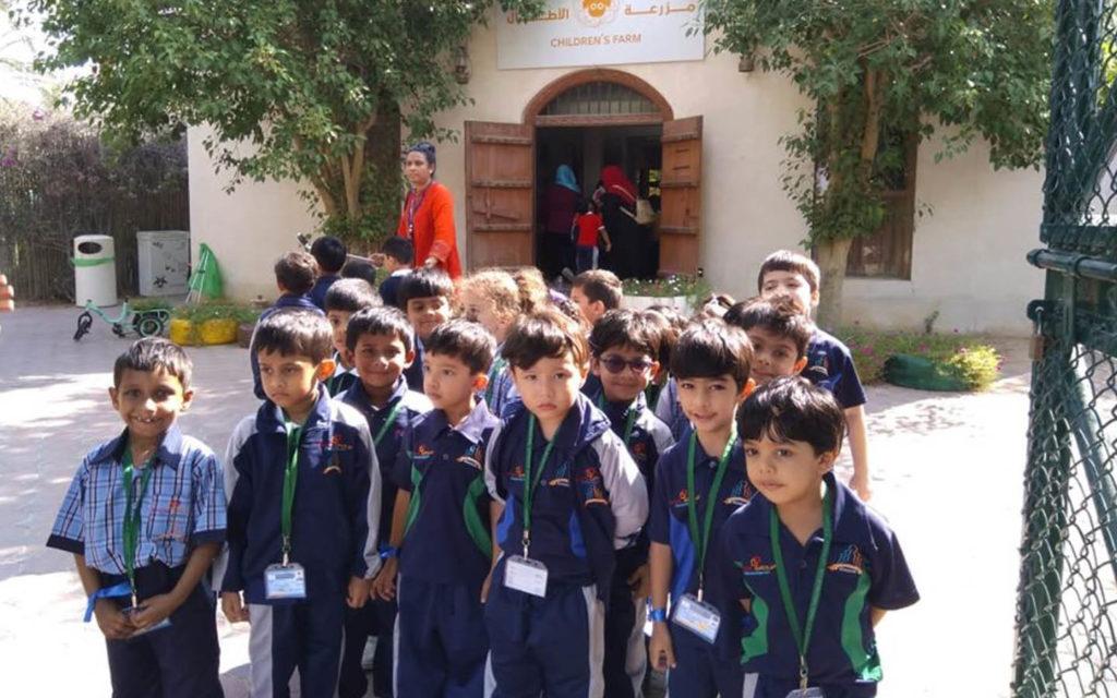 Students of PACE International School Sharjah