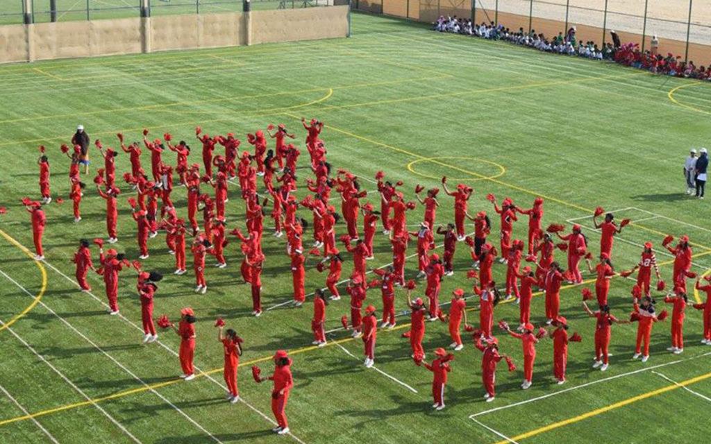 Football field at PACE International School Sharjah