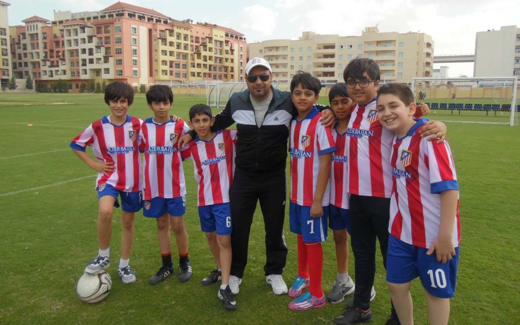 sports facilities at Al Zuhour Private School