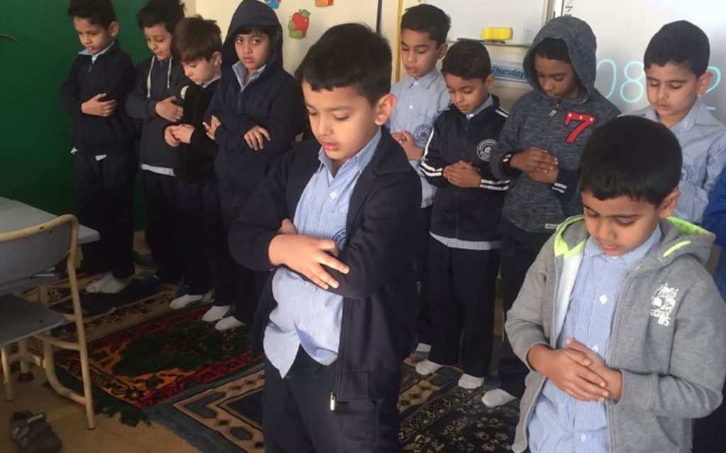 Al Zuhour Private School students