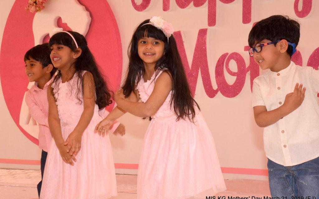 Madar International School mother's day event