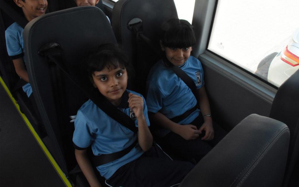 school transportation at Madar International School