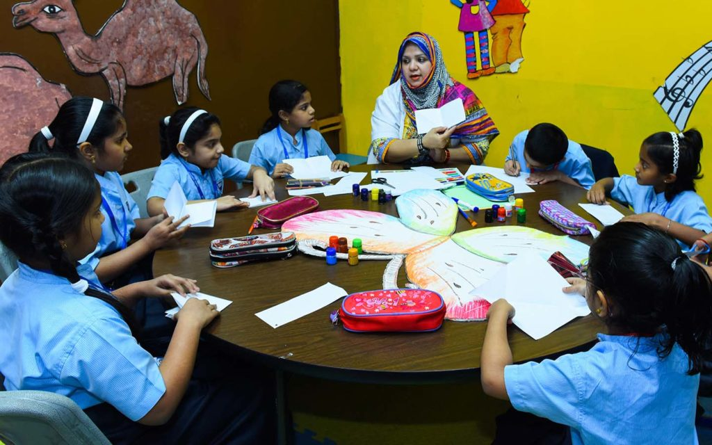 Indian curriculum taught at New Indian Model School of Sharjah