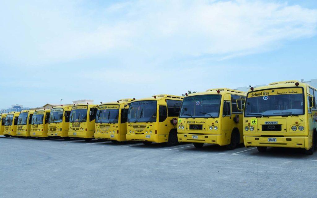 transportation facilities available for students at NIMS School Al Azra