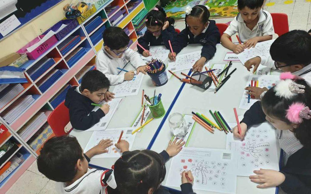 Art as a curricular activity at  Future International School Al Ain