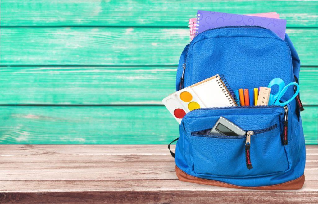 Sama American Private School bag