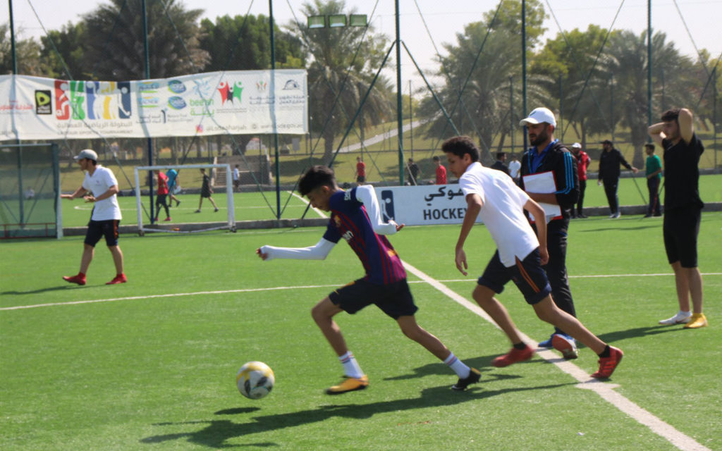 Sports competitions are held annually at Al Itqan American School Facebook Page