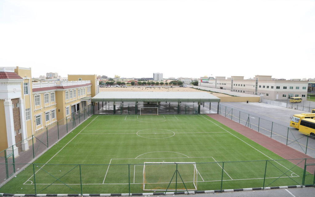 Sports facilities available at Gulf English Asian School