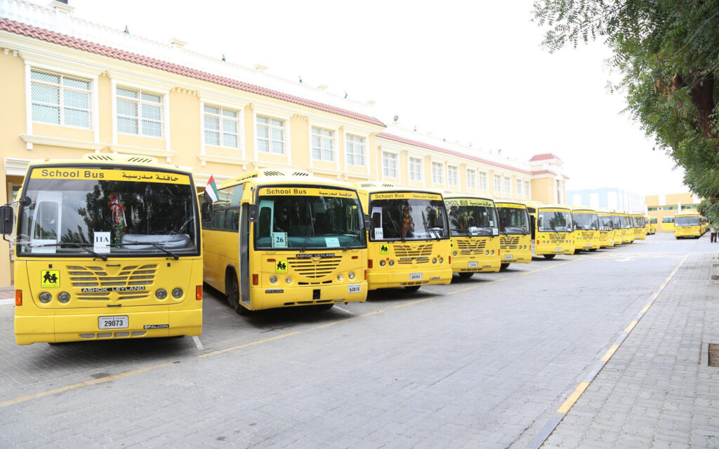 Bus services offered at GAES School