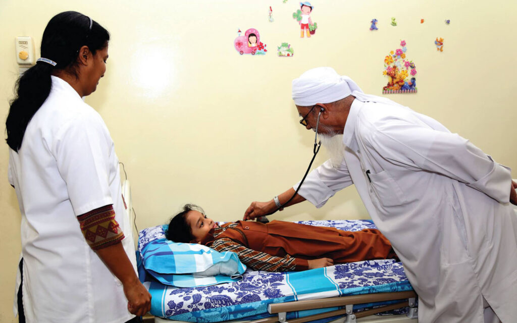 Clinic at Gulf Asian English School Muwaileh