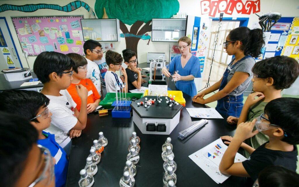 science activity repton school dubai