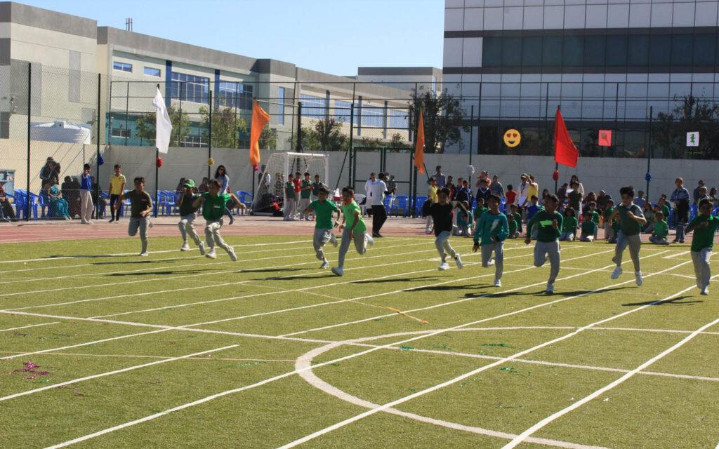 Sports day at Ryan International School Sharjah