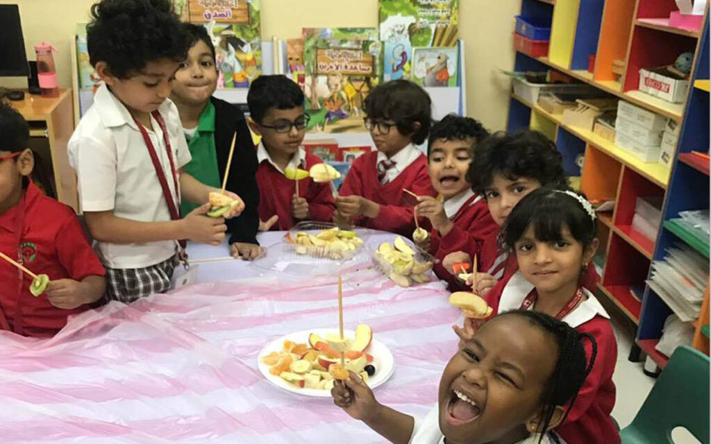 lunch options at Brilliant International Private School