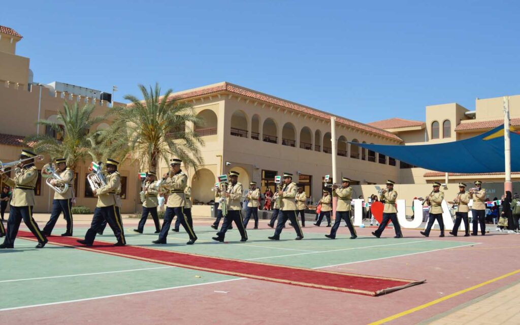 Emirates American School celebrations as extracurricular events
