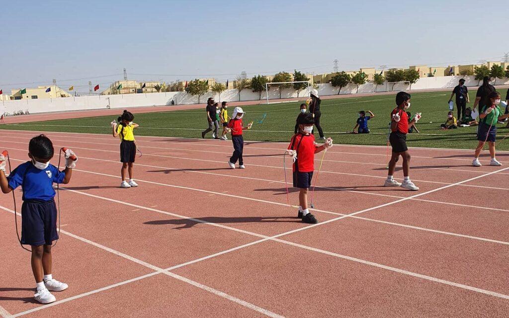 Athletic track of GEMS Modern Academy
