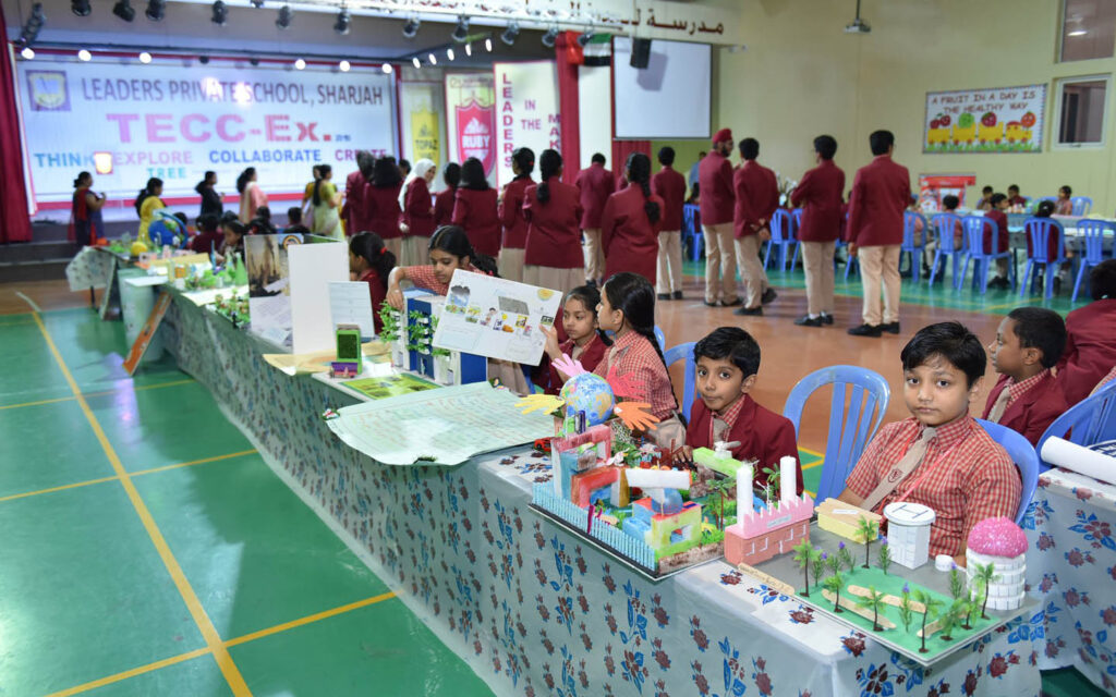 TECCEx as an extracurricular activity at Leaders Private School Sharjah