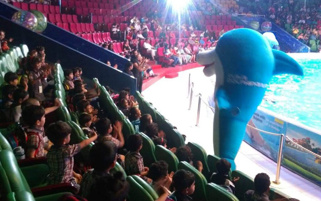 Field trip to Dolphinarium by Leaders Private School Sharjah