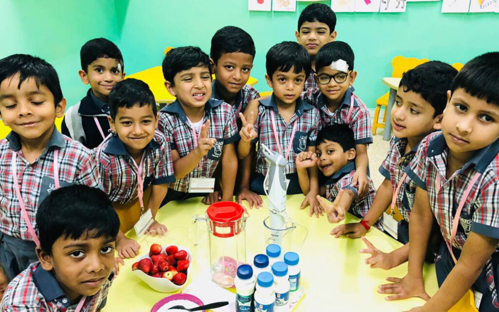 students of Leaders Private School thriving in an inspiring environment