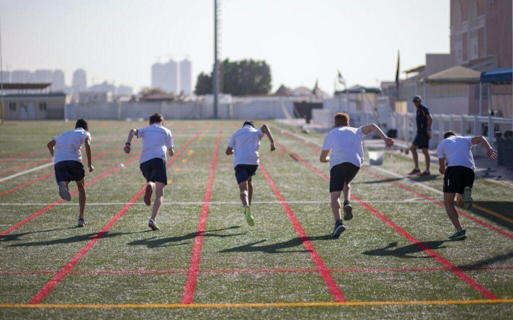 Sports facilities at Repton School Dubai