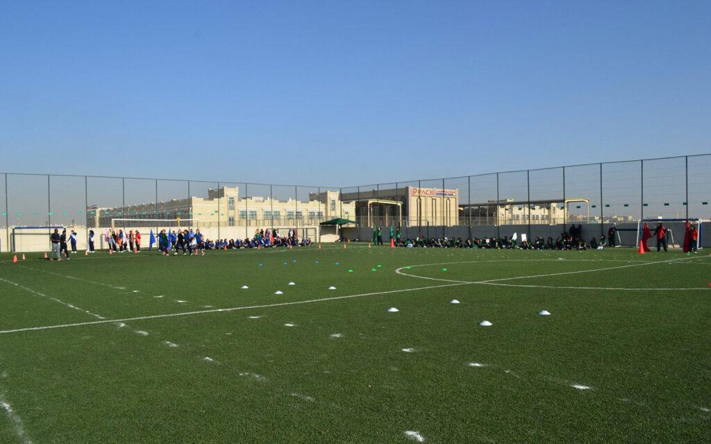 Football field at GEMS Westminster School Sharjah