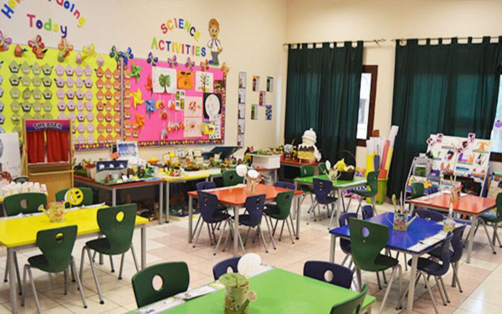 Classroom of Emirates American School Sharjah
